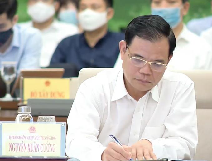 Bộ trưởng Nguyễn Xuân Cường: Nước là tài nguyên tái tạo nhưng hữu hạn