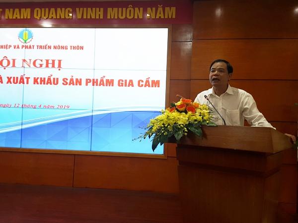 Bộ trưởng Nguyễn Xuân Cường: Ngành chăn nuôi gia cầm đang có dư địa rất lớn để phát triển
