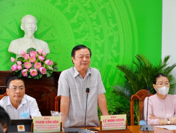 """Bộ trưởng Lê Minh Hoan: Tìm và gỡ điểm nghẽn để kích hoạt phát triển """"tam nông"""""""