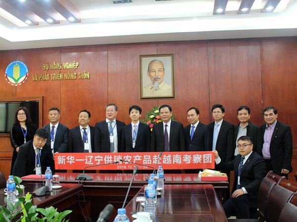 Bộ trưởng Nguyễn Xuân Cường: Việt Nam hoàn toàn có thể cung cấp nông sản sạch, ngon và giá phù hợp cho thị trường Trung Quốc 8