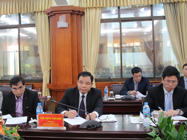 Bộ trưởng Nguyễn Xuân Cường: Việt Nam hoàn toàn có thể cung cấp nông sản sạch, ngon và giá phù hợp cho thị trường Trung Quốc 7