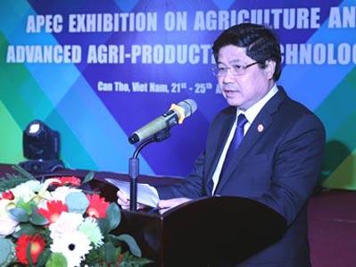 Khai mạc triển lãm về sản phẩm lương thực và công nghệ mới