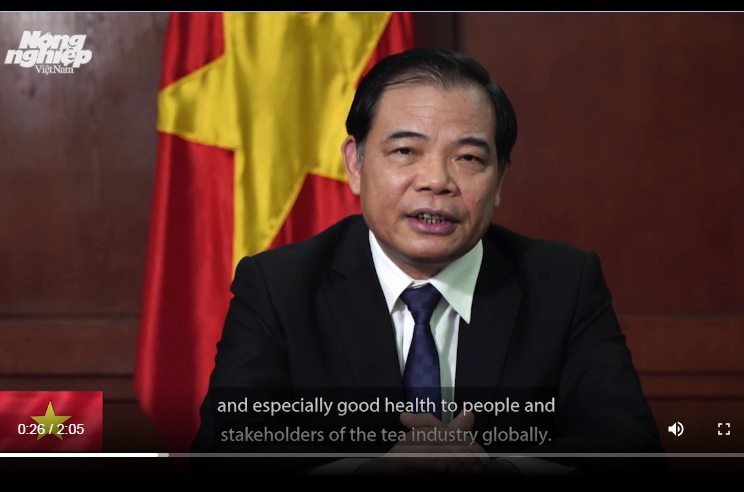 Remarks by Vietnam's Minister of Agricultureand Rural Developement International Tea Day