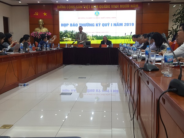 Permanent Deputy Minister Ha Cong Tuan: The agricultural sector is determined to achieve 3% growth in 2019